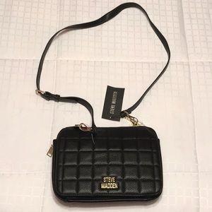 Steve Madden black Brenee crossbody bag